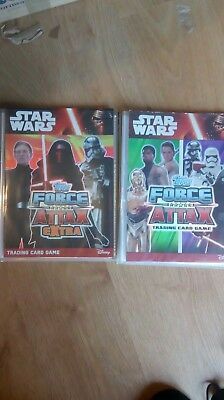 600 Force Attax Extra & The Force Awakens Trading Cards Inc. Limited Editions