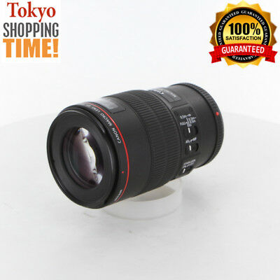 [EXCELLENT+++] Canon EF 100mm F/2.8 L IS USM Macro Lens from Japan