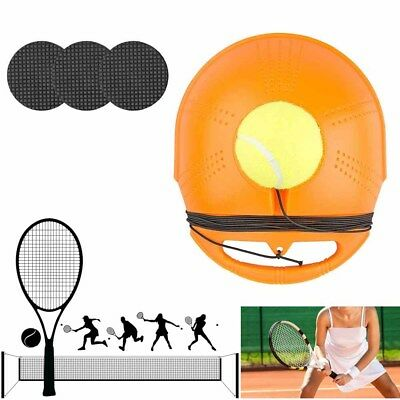 Tennis Singles Training Tool Exercise Tennis Ball Self-study Rebound Base Board