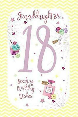 18th Granddaughter Birthday Wishes Age 18 Card By Wishing Well