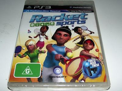 Racket Sports PS3 Sony Playstion 3 *Sealed*