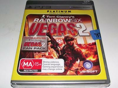 Tom Clancy's Rainbow Six Vegas 2 PS3 Sony Playstion 3 *Sealed*