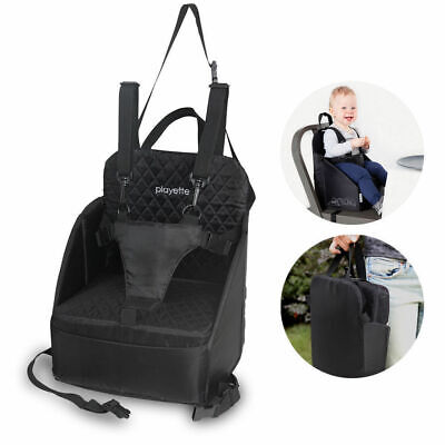 Baby Infants Toddler Portable Harness Booster Seat Safety Fold up Dining Chair