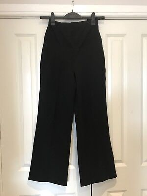Black Maternity Trousers Mothercare Size 10