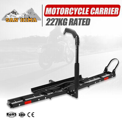 Motorcycle Carrier Rack For Car SUV Rear Towbar 2 inch Hitch Mount Arm Ramp