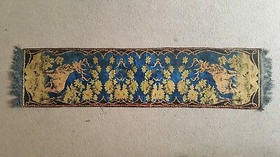 Antique Vintage Rug Runner 121cm x 30.5cm