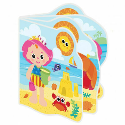Lamaze Baby My Friend Emily Bath Book Waterproof Pages Squeaker Interactive Toy