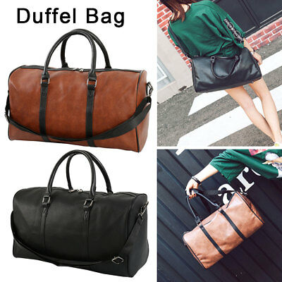 New Heavy Duty Tote Gym Sports Bag Duffle Travel Carry Shoulder Bag Luggage