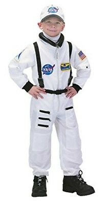 Jr.Astronaut Suit kids halloween costumes for boys child NASA cosplay party S