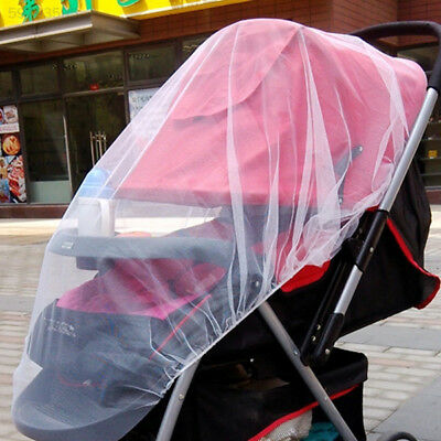 EE4A Easy Baby Stroller Pushchair Pram Mosquito Insect Net Netting Cover Mesh Bu