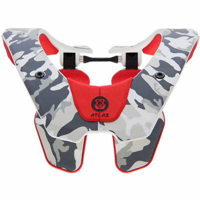 Atlas 2019 YOUTH Prodigy Air MX Motocross Neck Brace - Tundra/Camo