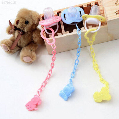 3B67 Pacifiers Unisex Fashion Pacifier Holder Baby Pacifiers Soother Baby