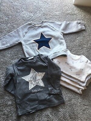 Boys Zara Jumper And Top And M&S Grows bundle 12-18months