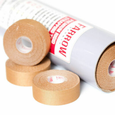 Premium Rigid Sports Strapping Tape 12 Rolls 25mmx13.7m Athletic Muscle Support