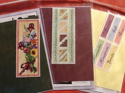 Creative Memories FROM THE HEART page completion Kit l Customer Gift.