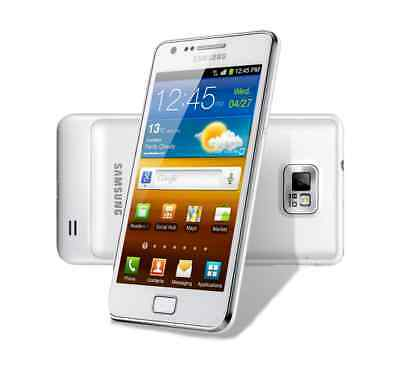 Samsung Galaxy S2 in Weiß Handy Dummy Attrappe - Requisit, Deko, Werbung