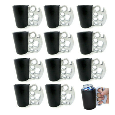 12Pk Brass Knuckles Drink Kooler Can/Stubby Holder/Insulated Cooler Beer/Soda