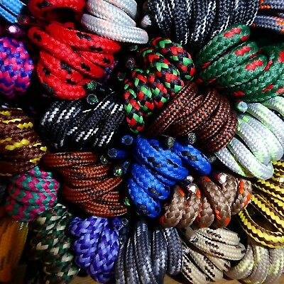 Strong Hiking Boot Laces -Length 90 cm - Huge range of 59 patterned shoe laces