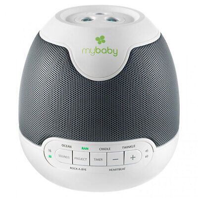 Homedics My Baby SoundSpa Lullaby Projector Sound Timer for Baby Infant Sleep