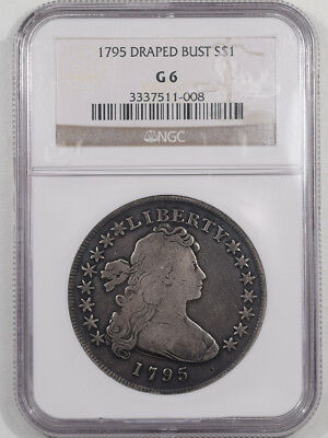1795 Draped Bust Dollar Ngc G-6