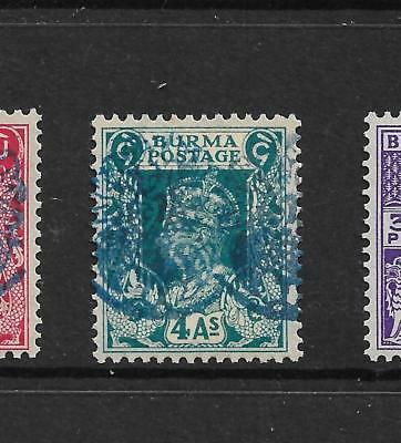 1942,BURMA,JAPANESE OCCUPATION,SGJ32a KGVI,MINT,DOUBLE,NOT INDIA,STATES,PEACOCK
