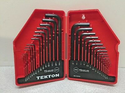 TEKTON 25253 Hex Key Wrench Set- Long arm and Arm - (Two Missing)   (C5)