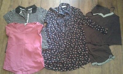 Bundle of MODA/H&M/Dorothy Perkins maternity clothes, size 10/12