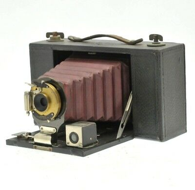 EASTMAN KODAK Co, No 3 FOLDING BROWNIE CAMERA MODEL B with RED BELLOWS