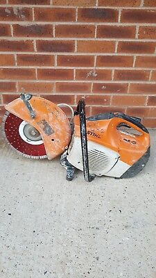Stihl Ts410 2010 model reliable starter. new blade