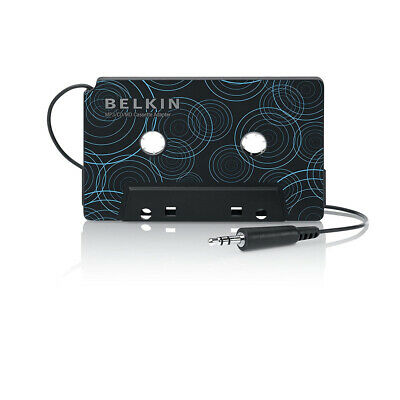 Belkin Cassette Tape Adapter Car AUX Audio Converter for MP3 Player iPhone Phone