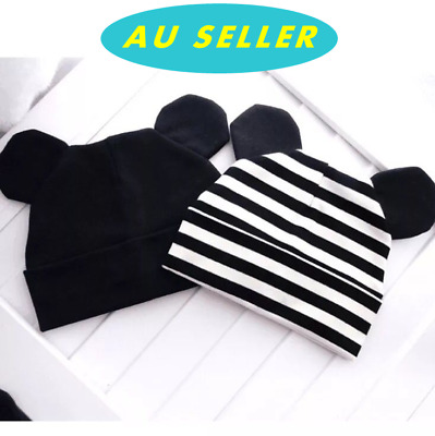 Infant Baby Toddler Girl Boy Winter Warm Cotton Ear Hat Ski Beanie Cap