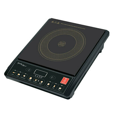 Portable Electric Induction Cooker Ceramic Plate Kitchen HotPlate Cooktop Stove