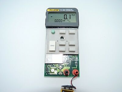 Fluke 713 30G Pressure Calibrator Logic Board With Display And Silicone Buttons