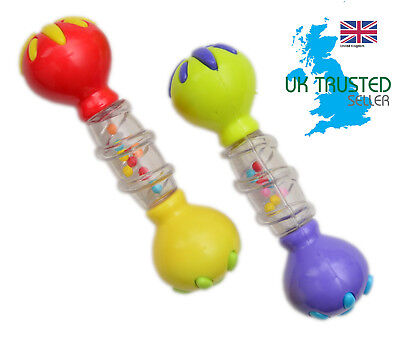 Baby Musical Music Instrument Fun Rattle Teether Halilit Cage Maracas