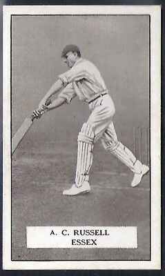 Gallaher-Famous Cricket Ers-#063- Essex - Russell