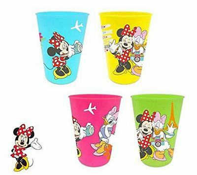 Set De 4 Vasos De Plástico De Minnie Mouse (17670)