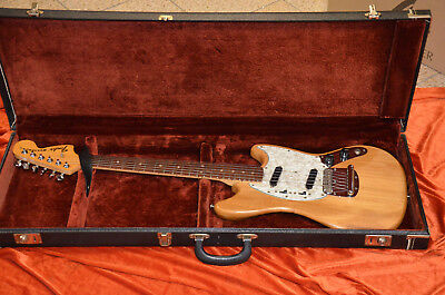 Fender Mustang Vintage Case Made In Usa 1979*super Rare*strong+Very Good Quality