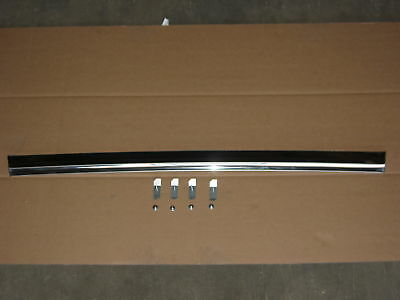 64 65 66 67 El Camino Top Tailgate Molding With Clips