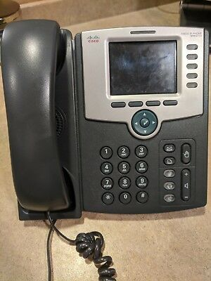Cisco SPA525G2 5-Line Color Display IP Phone w/WiFi w/Stand Handset