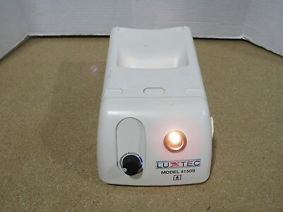 LUXTEC 4150S Light Source Tested and Working