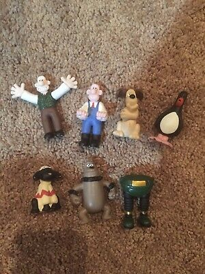 wallace and gromit cartoon figures