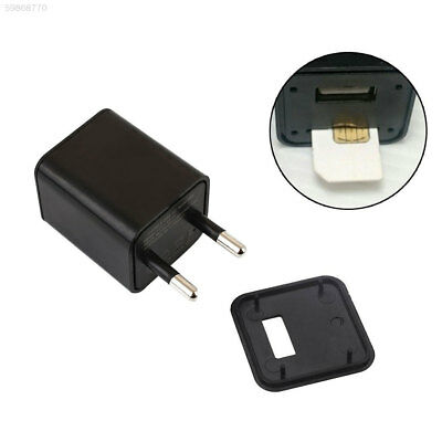 54F6 S4 Monitor Alarm Alert USB Power Charger Hidden Voice Sound Recorder GSM SI