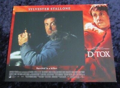D-Tox lobby card # 7 - Sylvester Stallone - 11 x 14 inches
