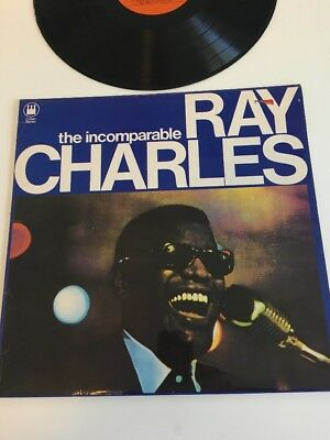 Ray Charles LP The Incomparable (f)