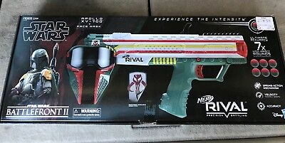NERF Rival Apollo Xv-700 Star Wars Boba Fett Collectible Blaster.  Brand New.