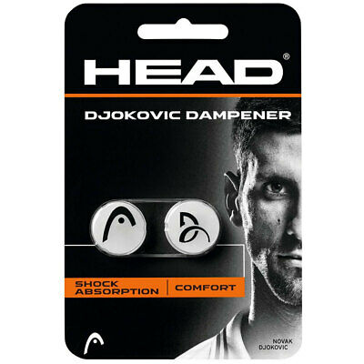 Head Djokovic Tennis Squash Dampener for Racquet Racket Shock Absorber Vibration