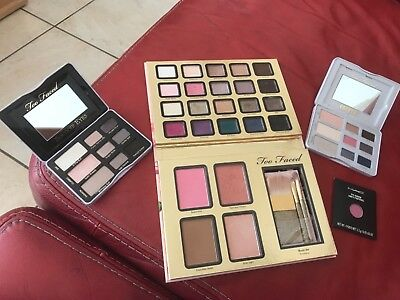 Palettes Too Faced + fard Mac Cosmetics