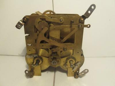 Vintage c1920 British Made 8 Day Time Strike Clock Movement Spares Parts Repairs