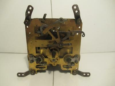 Vintage c1920 Feld/ Hepting 8 Day Time & Strike Clock Movement In G.W.O