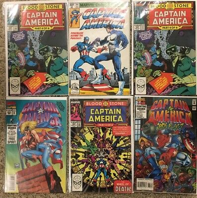 captain america lot 241,359,360x2,431&434 Marvel 1st App Crossbones & Punisher